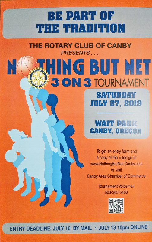 Canby Rotary Nothing But Net Basketball Tournament